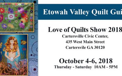 Love of Quilts Show 2018